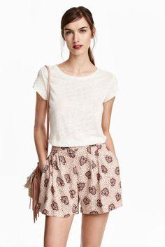Широкие шорты   H&M