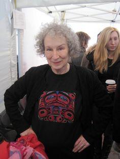 Margaret Atwood: Haida Gwai comes to Trafalgar Square (World Book Night)