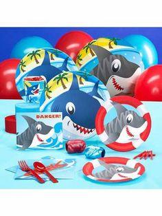 Cute shark party pack