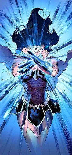The Lighting of Wonder Woman Wonder Woman Drawing, Wonder Woman Art, Wonder Woman Comic, Superman Wonder Woman, Arte Dc Comics, Dc Comics Art, Comics Girls, Gal Gadot, Univers Dc