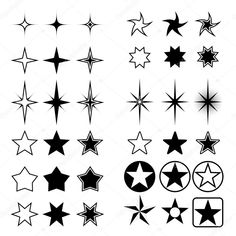 Small Star Tattoo Designs - Page 3 of 31 - Find Tattoos Online Small Star Tattoos, Mini Tattoos, Body Art Tattoos, Tatoos, Tattoos Of Stars, Form Tattoo, Shape Tattoo, Star Tattoo Designs, Star Designs