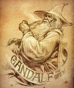 Gandalf the Grey - The Lord of the Rings - Ron Salas