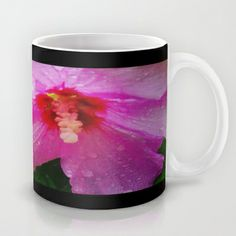 Rose of Sharon in the Rain Mug by Geni - $15.00