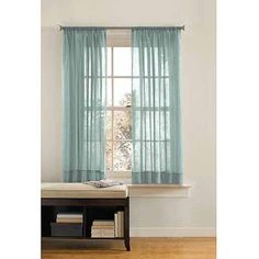 Better Homes and Gardens Crushed Voile Curtain Panel