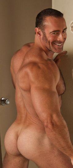 A guy naked at church