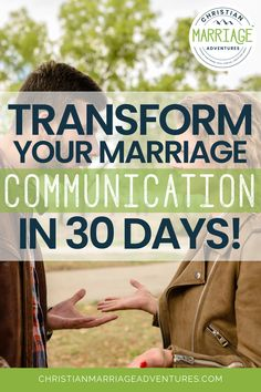 Are you ready for a stronger marriage with better communication in your relationship? Don't miss how you can transform your marriage communication in just 30 days and create a healthy marriage.    Christian Marriage Adventures #marriage #communication #marriagecommunication #christianmarriageadventures Marriage Sites, Marriage Couple, Best Marriage Advice, Healthy Marriage, Love And Marriage, Marriage Scripture, Biblical Marriage, Marriage Prayer, Strong Marriage