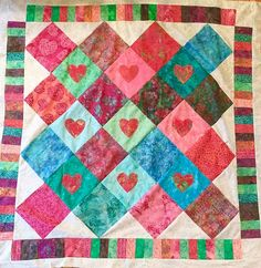 1. From My Heart To Yours Quilt Kit