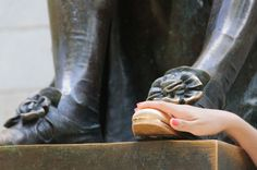 Harvard's foot