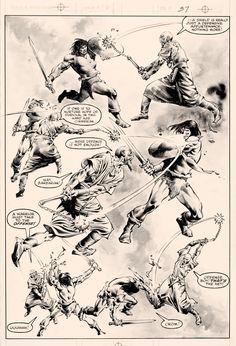 Savage Sword of Conan #82 by John Buscema & Rudy Nebres