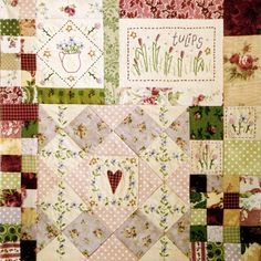 Leanne's House Block of the Month Quilt - Block 6