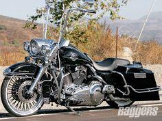 2008 Harley Davidson Road King Flhrc Left View