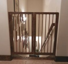 Baby Gate For Steps With Cat Door   2 Home Decor Inspiration   Pinterest    Baby Gates, Doors And Cat
