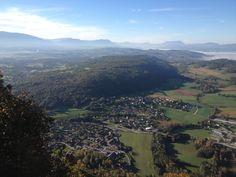 Vue sur Sillingy et la Montagne d'âge.
