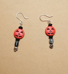 Check out this item in my Etsy shop https://www.etsy.com/listing/248766541/jack-olantern-earrings-halloween