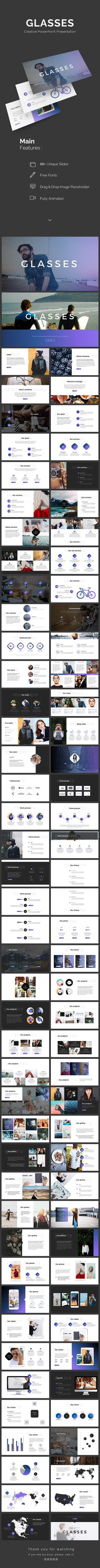 Glasses PowerPoint Template — Powerpoint PPT #1920x1080 #simple • Download ➝ https://graphicriver.net/item/glasses-powerpoint-template/20178024?ref=pxcr