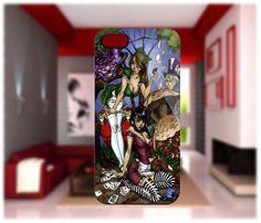 J Scott Campbell Alice   scott campbell alice in wonderland iphone cases 4/4s case iphone 5 ...