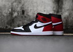 The Air Jordan 1 High Black Toe is showcased in even more imagery. Look for the sneaker at select Jordan Brand stores on November High School Outfits, Black Toe, Newest Jordans, Shoe Boots, Shoes, Jordan 1, Nike Air Force, Air Jordans, Kicks
