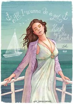 Lana Del Rey #LDR #art by Gabriel Marques [see more like this on my Lana~ART board!]