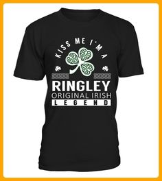 Kiss Me I am a RINGLEY Original Irish Legend - Shirts für singles (*Partner-Link)