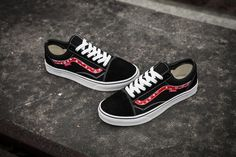 cbcf7112ad3 Buy Vans X Champion X Supreme Old Skool Classic Black Red True White Mens  Shoes Discount from Reliable Vans X Champion X Supreme Old Skool Classic  Black Red ...