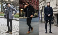 Peacoat Style   Shop now at The Idle Man   #StyleMadeEasy