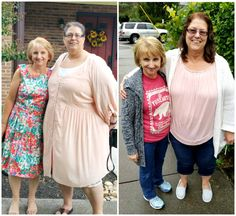 """Roxanne's Trim Healthy Mama Journey!   """"August 19th was my one year anniversary. Thankful for this plan. My sweet friend Mary shared it and I will never look back. 90 pounds lost. I have lots more to go but it so worth the journey."""" - Roxanne B .www.TrimHealthyMama.com"""