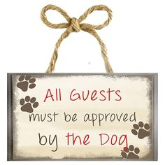 Diy Wood Signs, Pallet Signs, Trendy Home Decor, Dog Crafts, Vinyl Crafts, Dog Signs, Funny Signs, Farm Signs, Wall Decor