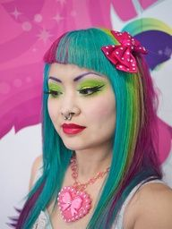 """Founder and Creator of Sugarpill Cosmetics, Amy """"Shrinkle"""" Doan"""