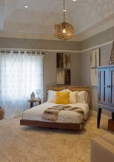 10 Creative Corner Bed Design Picture Remodel And Ideas To Choose decoratio. Bedroom Decor Design, Bed Design, Bedroom Decor On A Budget, Home, Bed In Corner, Bedroom Design, Contemporary Bedroom Design, Home Decor, New Room