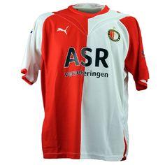 Feyenoord football shirt match worn by Leroy Fer (signed) Vintage Football Shirts, Sports, Tops, Fashion, Hs Sports, Moda, Fashion Styles, Sport, Shell Tops