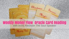 Money Flow Oracle Card weekly reading 31 October to 6 November 2016