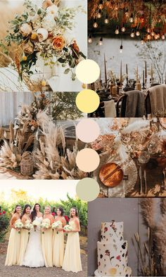 Top Wedding color trends that will make your wedding over the top and one of a kind. From neutral to warm color tones, these colors are the perfect touch a spring wedding will need. Top Wedding Trends, Wedding Themes, Wedding Designs, Wedding Decorations, Wedding Songs, Wedding Card, Wedding Dresses, Wedding Palette, Wedding Color Schemes
