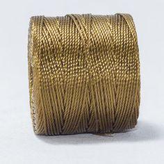 Hilo macramé antique gold/ dorado antiguo. Beryllos: cuentas y abalorios. www.beryllos.es