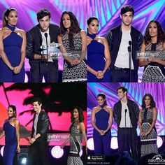 @matthewdaddario with @thebriebella and @thenikkibella on Stage at #TEENCHOICE  #ChoiceTvBreakoutstar and #ChoiceTvBreakoutShow announcement