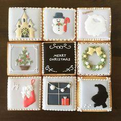 12月9日(水)〜12月24日(木)の期間咲き続けるお花のアクセサリーと雑貨屋georges et…(@georges_et )さんにてクリスマスクッキー展をさせていただきます 正方形のクッキー9枚にクリスマスモチーフを描きました。ぜひツリーやケーキに飾ってクリスマスを彩ってください✨ お店の場所などはブログよりご確認ください #icingcookies #アイシングクッキー #福井 #fukui #クリスマス #christmas2015