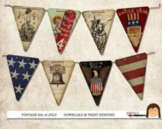 Vintage fourth of july decorations - Google Search