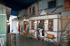 """Lots of Doctor Who and Game of Thrones stuff as well! """"Whimsic Alley is a wondrous world of magical shops that recreates a voyage into the wizarding world. Kids Store, Toy Store, Los Angeles Apartments, City Of Angels, Character Design Inspiration, California Travel, Kids Decor, Day Trips, Apartment Therapy"""