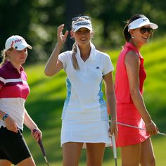 The LPGA Tour has rebounded from the doldrums of 2008 and is one of the best tours in the world right now. There are young stars ready to win, and the veterans are still competitive. Girls Golf, Ladies Golf, Golf Sexy, Lpga Golf, Michelle Wie, Golf Outing, Golf Tour, Golf Attire, Golf Player
