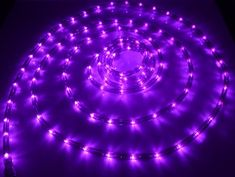 18' LED Purple Rope Lights - $27.21 - $28.85 at The Purple Store