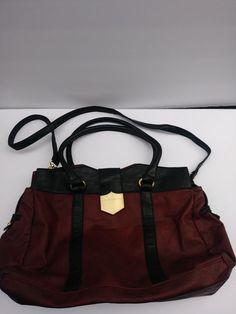 R + J Women s Handbag Tote Purse Burgundy and Black SB001   RJHandbagsbyRomeoJulietCouture  Tote Tote 67c2f0db79ee2