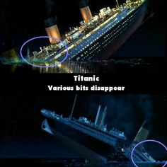 11 Funny Titanic Movie Mistakes That You Probably Didnt Notice - So Funny Epic Fails Pictures Titanic Film, Rms Titanic, Famous Movie Scenes, Famous Movies, Epic Movie, Movie Tv, Movie Facts, Fun Facts, Movie Bloopers