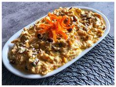 Tuerkischer Moehren Dip l tuerkischer Karotten Dip Dips, Jamie Oliver, Macaroni And Cheese, Oatmeal, Burger, Breakfast, Pesto, Ethnic Recipes, Pizza