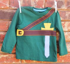 Zelda Toddler Shirt, Link Toddler Shirt, Long Sleeve Zelda Shirt. $28.00, via Etsy.