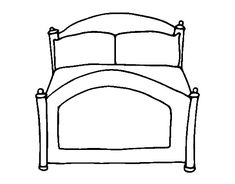 Easy Shapes Coloring Pages Big Bed There S 10 In The
