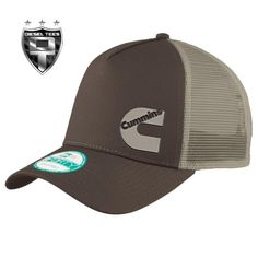 Cummins Diesel Brwon and Tan Trucker SnapBack Hat Cummins Diesel Trucks, Dodge Cummins, Snapback Hats, My Style, Brown, Goals, Life, Clothes, Outfits