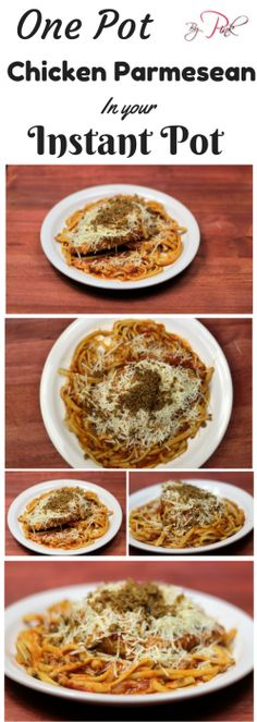 One Pot Chicken Parmesan In the Instant Pot