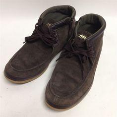 Auth Mens Shoes Suede Brown Size :41(26cm)Top Seven boots (b16003483)