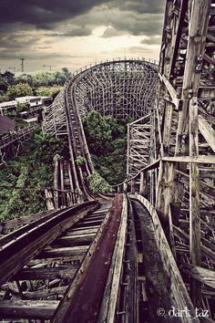 Nara Dreamland, an abandonned attraction parc in japan.