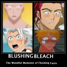 Blushing Bleach by leeannett.deviantart.com on @deviantART  lol.