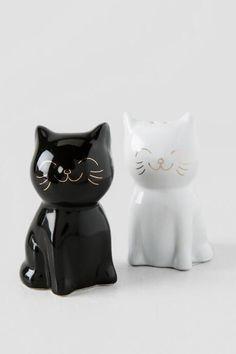 Cat Salt and Pepper Shakers $12.00